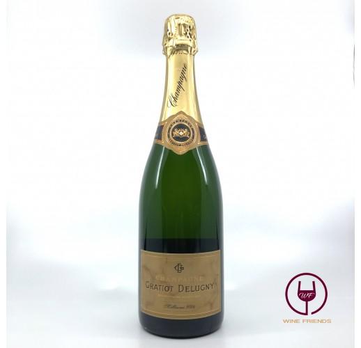 Champagne Gratiot Delugny Millesime Brut 2004